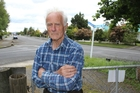 Dannevirke's Paddy Mullholland remains scared and upset after being attacked by a dog on this street. Photo / Christine McKay
