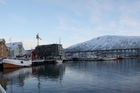 The harbour at Tromso, Norway.