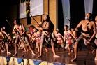 HAKA WINNERS: Rotorua Intermediate School with Jay Te Kani (left) Sebastian Douthett and Tamawhakaara Ngawhika won the haka section at Te Mana Kuratahi, National Primary Schools Kapa Haka Competition. PHOTO/SUPPLIED