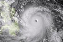 Super Typhoon Haiyan taken by the Japan Meteorological Agency's MTSAT. Photo / AFP