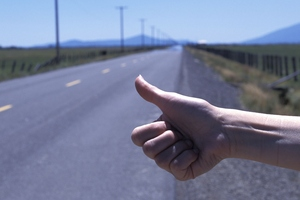 A tourist got the ride of his life when he tried hitchhiking in Northland yesterday. Photo / Thinkstock