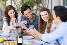 You can expect one mean bottle of wine shared between eight people. Expect cheese boards and cheesy boredom. Expect the expected. Photo / Thinkstock