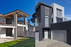 In zone: 576 Mt Eden Road (l), $2,066,00. Out of zone: 16a Peary Rd, $1,550,000.