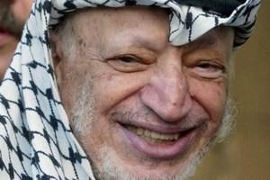 2003 file photo of late Palestinian leader Yasser Arafat. Photo / AFP