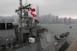 Aircraft carriers USS George Washington. Photo / AP