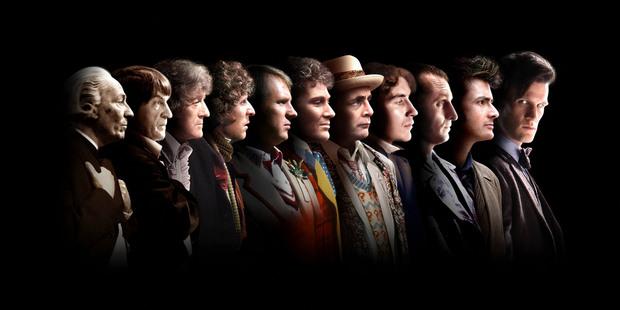 The eleven Doctors thus far...