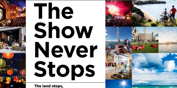 "Posters saying ""AKL The Show Never Stops"" are going up around the city."