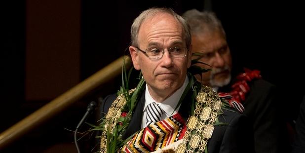 Auckland mayor, Len Brown.