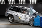 Chery J11 after its ANCAP crash test. It scored  a two-star safety rating.