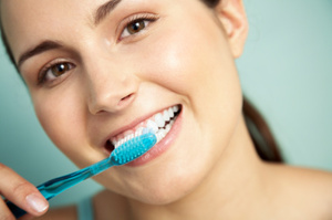 Healthy habits can be as easy as brushing your teeth. Photo / Thinkstock