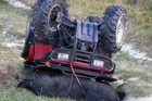 DANGEROUS: Quad bike accidents account for 850 injuries and five deaths a year.