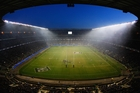 The England camp is building up Twickenham as the place opposition teams fear to play. Photo / Getty Images