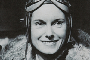 Alan Sayers took this picture of aviator Jean Batten.