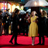 U.S actress Willow Shields arrives under an umbrella on the red carpet for the World Premiere of 'Hunger Games: Catching Fire'. Photo / AP
