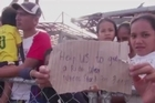Typhoon-stricken city in Philippines braces for medical problems amid desperation and looting. The cogs of a massive international aid effort are beginning to turn, but not quickly enough for the 600,000 hungry and thirsty people displaced.