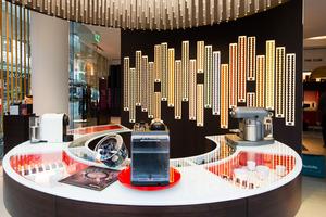 The new Wellington Nespresso boutique.