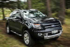 The Wildtrak's 3.2-litre engine uses about 9.6 litres/100km Picture / Ted Baghurst