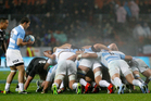 While test players are in favour of a global season, the IRB seem to be in no rush to implement change. Photo / Getty Images