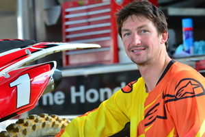 Cody Cooper says he was taking things easy at Te Kuiti, but he still won three races. Photo / Andy McGechan, BikesportNZ.com