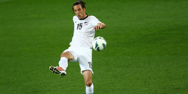 Ivan Vicelich. The All Whites face a massive challenge ahead of this morning's match against Mexico. Photo / Getty Images