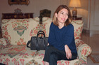 Film-maker, style icon and designer of Louis Vuitton's iconic SC bag Sofia Coppola.