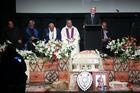 Peter Fatialofa's Family Service at the Vodaphone Events Centre, Manukau. Photo / Chris Loufte