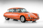 Brandpowder's Porsche 911 and the Citroen DS concept car. Photo / Supplied