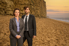 David Tennant and Olivia Colman in 'Broadchurch'.