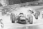 Denny Hulme at the Monaco Grand Prix 1967