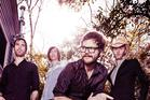 Australian alt-country musician Henry Wagons and band.