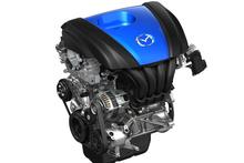 The Mazda6 SkyActive engine.