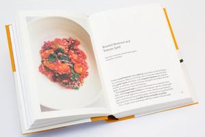 Nigel Slater's cook book. Photo / Richard Robinson.