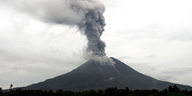 Mt Sinabung. Photo / Getty Images