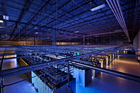 The view inside a Google data centres in Hamina, Finland. The company says it received 25,879 govt requests for personal data in the first half of this year.