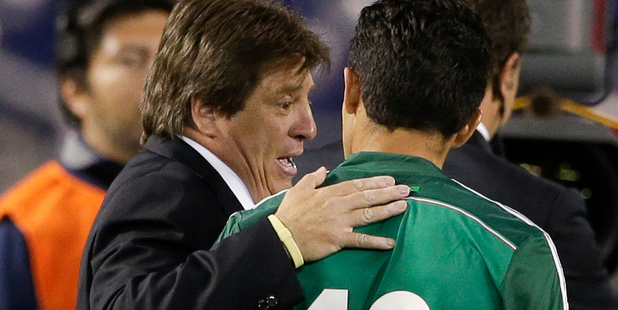 Mexico coach Miguel Herrera expects nothing less than a comprehensive victory when his side tackles the All Whites in Mexico City tomorrow. Photo / AP