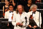 English composer Sir John Tavener. Photo / AP