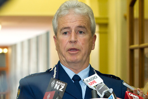 Police Commissioner Peter Marshall. Photo / Mark Mitchell
