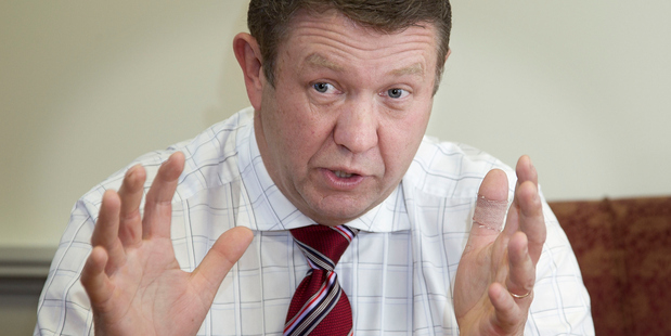 Cunliffe: A gale of enlightenment for Labour, and also a brash server of rhetoric and bluster. Photo / Marty Melville