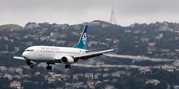 A Boeing 737. Photo / Mark Mitchell