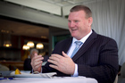 Dean Lonergan is one persuasive salesman. Photo / Natalie Slade