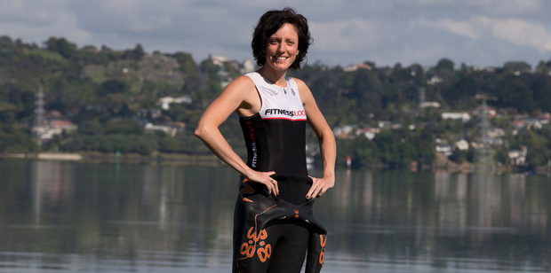Bronwyn Impson will be competing in the harbour crossing swim for the first time. Photo / Brett Phibbs
