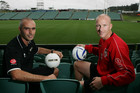 Darren Bazeley (L) is at the helm of the Wanderers. Photo / Getty Images
