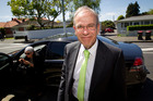 Len Brown can't yet draw a line under his controversial affair. Photo / Richard Robinson