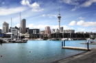 Auckland's waterfront. Photo / Doug Sherring