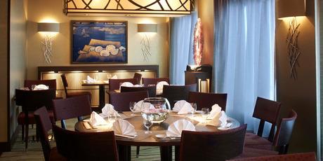 The Silk Road Japanese restaurant.