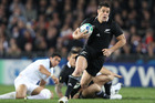 New Zealand's Dan Carter in action. Photo / Getty Images