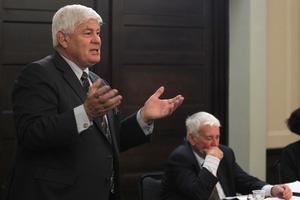 LGC chairman Basil Morrison.