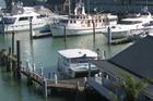Opua wharf