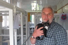 SPCA manager John Logie is relieved the cat shelter's residents were not harmed in the break-ins