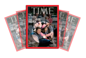 King's photo will run on the cover of Time magazine's Nov 25 issue.